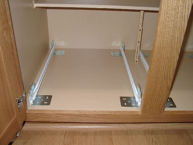 how to install cabinet drawers 1